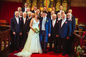 Chester Male Voice Choir Wedding Performance