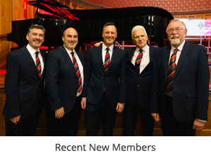 Membership of Chester Male Voice Choir