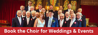Book the Choir for Weddings & Events